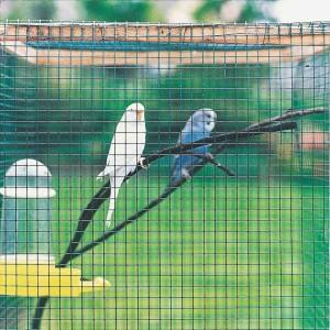 Zvárané sieťky pre chovateľov vtákov